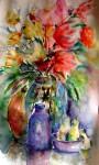 Obras de arte: Europa : España : Andalucía_Málaga : Torre_del_Mar : Flores. Bodegon