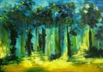 Obras de arte: America : Panam� : Panama-region : BellaVista : oscuras golondrinas
