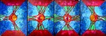 Obras de arte: America : Colombia : Distrito_Capital_de-Bogota : Bogota : LUNA EN PISCIS