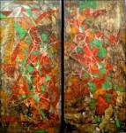 Obras de arte: America : Colombia : Distrito_Capital_de-Bogota : Bogota : ALMAS GEMELAS 2