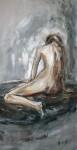 Obras de arte: Europa : España : Catalunya_Tarragona : Banyeres_Penedes : Apuntes mujer IV