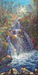"""Obras de arte: Europa : España : Andalucía_Málaga : Rincón_de_la_Victoria : """"La gran cascada, un instante bucólico en el Rio Chillar, Frigiliana"""""""