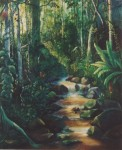 Obras de arte: America : Perú : San_Martin : tarapoto-_ciudad : quebrada encantada