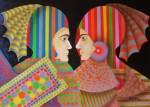 Obras de arte: America : Colombia : Distrito_Capital_de-Bogota : Bogota_ciudad : SOLDADOS No 1