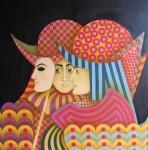 Obras de arte: America : Colombia : Distrito_Capital_de-Bogota : Bogota_ciudad : SOLDADOS No 2