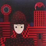 Obras de arte: America : Colombia : Distrito_Capital_de-Bogota : Bogota_ciudad : IBIS ROJO