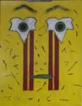 Obras de arte: Europa : España : Catalunya_Barcelona : Barcelona_ciudad : Autorretrato con Hojas