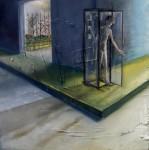 Obras de arte: America : Colombia : Distrito_Capital_de-Bogota : Bogota : HOMBRE EN EL TELEFONO