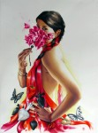 Obras de arte: America : México : Jalisco : Guadalajara : pasión en rojo