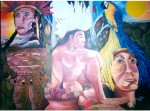 Obras de arte: America : Venezuela : Carabobo : san_diego : Sobrevivientes y Cultura de Nuestra Raza