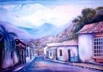 Obras de arte: America : Venezuela : Carabobo : san_diego : Calle Bocono Venezuela Edo Trujillo