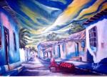 Obras de arte: America : Venezuela : Carabobo : san_diego : Calle meza Bolivar Merida Venezuela