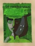 Obras de arte: Europa : Francia : Provence-Alpes-Cote-d_Azur : Trigance : Le Rendez-vous