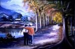 Obras de arte: America : Venezuela : Carabobo : san_diego : Andinitos a la Entrada Merida Venezuela