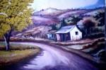 Obras de arte: America : Venezuela : Carabobo : san_diego : Araguaney en el Camino
