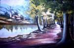 Obras de arte: America : Venezuela : Carabobo : san_diego : Lago Artificial (Criadero de Truchas) Merida Venezuela