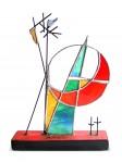 Obras de arte: America : Colombia : Santander_colombia : Bucaramanga : la luna, el, sol y las estrellas