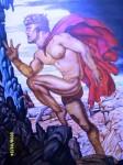 Obras de arte: America : Venezuela : Carabobo : san_diego : El hombre de la capa roja