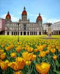 Obras de arte: Europa : España : Galicia_La_Coruña : Coruna : Espejismo con flores