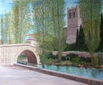 Obras de arte: Europa : Espa�a : Castilla_y_Le�n_Burgos : Villanueva_de_Gumiel : Puente romano
