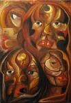 Obras de arte: America : Argentina : San_Juan : SAN_JUAN_CIUDAD : SERIE MASCARAS