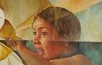 Obras de arte: America : México : Puebla : puebla_ciudad : toque divino (detalle)