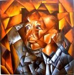 Obras de arte: America : Argentina : Buenos_Aires : berazategui : Espejo roto