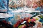 Obras de arte: Europa : España : Catalunya_Tarragona : Valls : paisatge fred