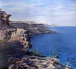 Obras de arte: Europa : España : Melilla : Melilla_ciudad : atardecer