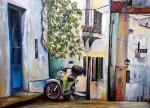Obras de arte: Europa : España : Catalunya_Tarragona : Valls : la moto