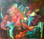 Obras de arte: America : Argentina : Buenos_Aires : ADROGUE : Rostros encubiertos