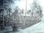 Obras de arte: America : Panamá : Colon-Panama : Panamá_Ciudad : Antiguo Hotel Washintong