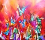 Obras de arte: America : Argentina : Buenos_Aires : ADROGUE : Ciudad mágica