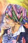 Obras de arte: America : Guatemala : Guatemala-region : Guatemala-ciudad : El Cofrade