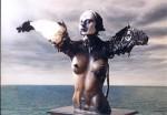 Obras de arte: America : Argentina : Buenos_Aires : Capital_Federal : El abrazo de Agrippa