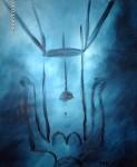 Obras de arte: America : Colombia : Antioquia : Medellín : Descanso en Azul