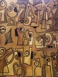 Obras de arte: America : Uruguay : Canelones : Parque_de_Carrasco : Jeroglífico en Ocre