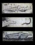 Obras de arte: America : Cuba : Santiago_de_Cuba : Stgo_ciudad : Triptico