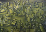 Obras de arte: America : Uruguay : Canelones : Parque_de_Carrasco : Jeroglífico en Verde