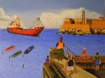 Obras de arte: America : Cuba : Ciudad_de_La_Habana : San_Miguel_del_Padrón : Malecon Habanero