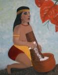 Obras de arte: America : Puerto_Rico : San_Juan_Puerto_Rico : GUAYANILLA : TAINA MIS RAICES