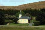 Obras de arte: America : Argentina : Rio__Negro : Cipolletti : Iglesia -Estancia El Condor - Patagonia