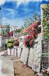 Obras de arte: America : Chile : Region_Metropolitana-Santiago : La_Reina : Flores de Valparaiso