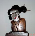 Obras de arte: Europa : España : Aragón_Huesca : Huesca : Geisha1