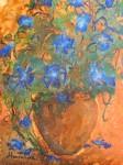 Obras de arte: Europa : España : Murcia : molina : azules en orza