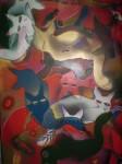 Obras de arte: Europa : España : Andalucía_Granada : Motril : The Cats