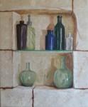 Obras de arte: Europa : España : Galicia_Orense : ourense : Estante de cristal