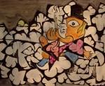Obras de arte: Europa : España : Principado_de_Asturias : Gijón : Fumador