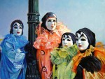 Obras de arte: America : Argentina : Buenos_Aires : Ciudad_de_Buenos_Aires : Los Payasos (Carnaval Veneciano)