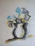 Obras de arte: America : Argentina : Buenos_Aires : Martinez : florero con flores 1